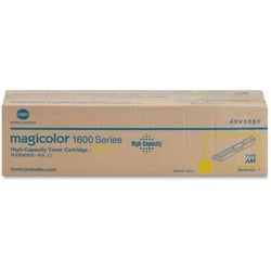 Minolta Magicolor Yellow Toner Cartridge for 1650EN Printer