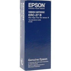 Epson Black Ribbon Printer Cartridge