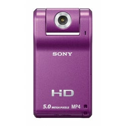 Sony Webbie HD MHS-PM1 Eggplant Digital Camcorder
