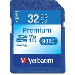 Verbatim 32GB Premium Secure Digital High Capacity Card