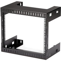StarTech.com 8U Open Frame Wall Mount Equipment Rack
