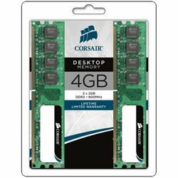 Corsair Value Select 4GB DDR2 SDRAM Memory Module