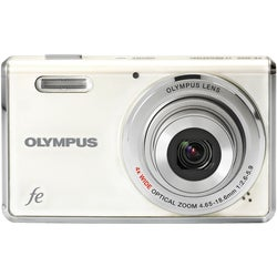 Olympus FE-4000 12MP White Digital Camera