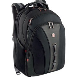 Wenger LEGACY Checkpoint-friendly 15.6-inch Black Laptop Backpack