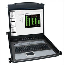 NetDirector B020-U08-19-K Console Rackmount LCD with KVM Switch