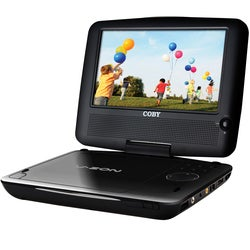 Coby 7inch Widescreen TFT Portable DVD/CD/MP3 Player With Swivel Screen And USB/SD Card Slots