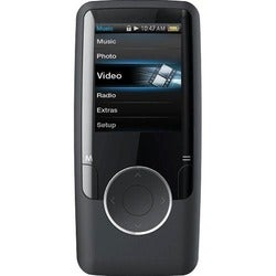 Coby Black 4GB 1.8inch Video MP3 Player With FM Tuner