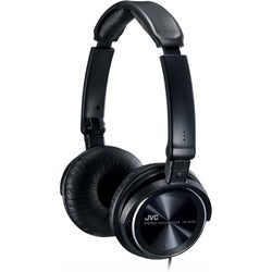JVC HAS360 Black 3.94-foot Wired Lightweight Headphone - Stereo
