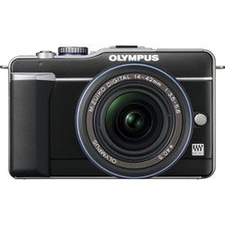 Olympus PEN E-PL1 12.3MP Black Digital Camera