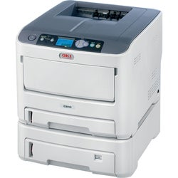 Oki C610DTN LED Printer - Color - Plain Paper Print - Desktop