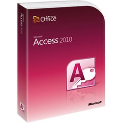 Microsoft Access 2010 - Complete Product - 1 PC (Academic)