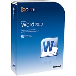 Microsoft Word 2010 Home and Student - Complete Product - 3 PC in One
