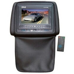 Pyle PLD72BK Car DVD Player - 7