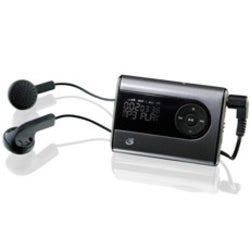 GPX MW240S 2 GB Flash MP3 Player - Black