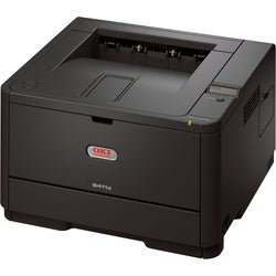 Oki B411D LED Printer - Monochrome - Plain Paper Print - Desktop