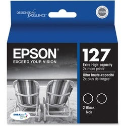 Epson DURABrite T127120-D2 Ink Cartridge - Black