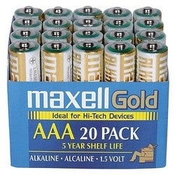 Maxell AAA Alkaline General Purpose Battery