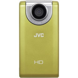 JVC PICSIO GC-FM2 1080p Yellow Digital Camcorder