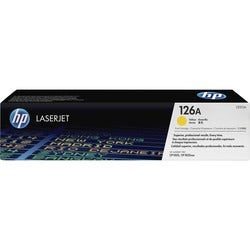 HP 126A (CE312A) Yellow Original LaserJet Toner Cartridge