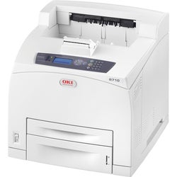 Oki B710N LED Printer - Monochrome - 1200 x 1200 dpi Print - Plain Pa