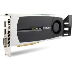 HP WS097AT Quadro 6000 Graphics Card - PCI Express 2.0 x16 - 6 GB GDD