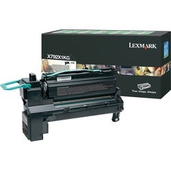 Lexmark X792X1KG Extra High Yield Return Program Toner Cartridge