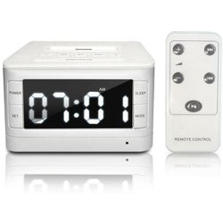 Premiertek CRD-IP-CK Desktop Clock Radio - 3 W RMS - Apple Dock Inter