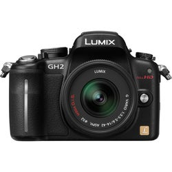 Panasonic Lumix DMC-GH2 16.1MP Mirrorless Black Digital SLR Camera