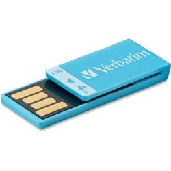 Verbatim Clip-it 97550 Flash Drive - 4 GB