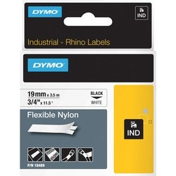 "Dymo RhinoPRO Flexible Nylon Tape - 0.75"" x 11.5' - Tape"