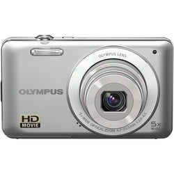 Olympus VG-120 14MP Silver Digital Camera