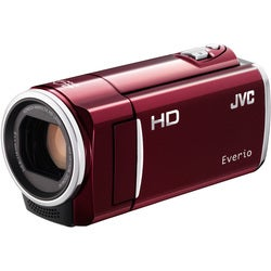 "JVC Everio GZ-HM50 Digital Camcorder - 2.7"" LCD - CMOS - HD, SD - Red"