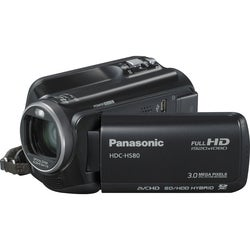 "Panasonic HDC-HS80 Digital Camcorder - 2.7"" LCD - Touchscreen - CMOS"