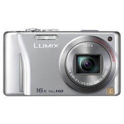 Panasonic Lumix DMC-ZS10 14.1MP Silver Digital Camera