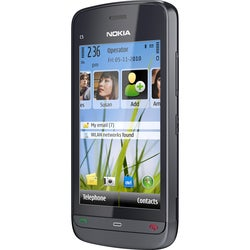 Nokia C5-03 Smartphone - Wireless LAN - 3.5G - Bar - Graphite, Black