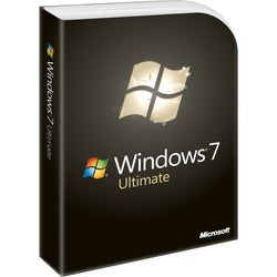 Microsoft Windows 7 Ultimate With Service Pack 1 32-bit - License and