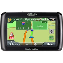 Magellan RoadMate 2136T-LM 4.3-inch GPS Navigation System with Lifetime Maps & Traffic