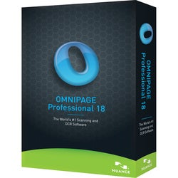 Nuance OmniPage v.18.0 Professional - Upgrade Package - 1 User