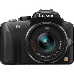 Panasonic Lumix DMC-G3 16MP Mirrorless Black Digital SLR Camera
