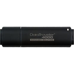 Kingston DataTraveler 4000 DT4000M/4GB 4 GB USB 2.0 Flash Drive - 1 P