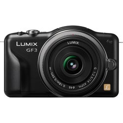 Panasonic Lumix DMC-GF3 12.1 Megapixel Mirrorless Camera - Black