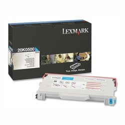 Lexmark Cyan Toner Cartridge