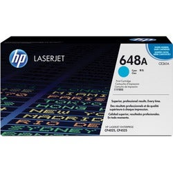 HP 648A Toner Cartridge - Cyan