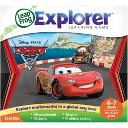 LeapFrog Explorer Game Cartridge: Disney?Pixar Cars 2