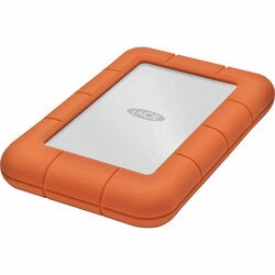 "LaCie Rugged Mini 301558 1 TB 2.5"" External Hard Drive - Orange"