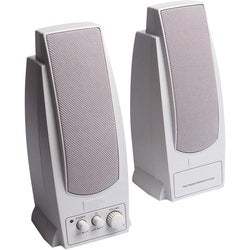 Inland Pro Sound 2000 2.0 Speaker System - 7.2 W RMS - White