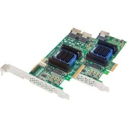 Adaptec 6405E SAS RAID Controller - Serial Attached SCSI, Serial ATA/