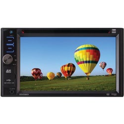 "Dual XDVD3201 Car DVD Player - 6.2"" Touchscreen LCD Display - 240 W R"