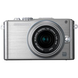 Olympus PEN E-PL3 12.3 Megapixel Mirrorless Camera (Body with Lens Ki