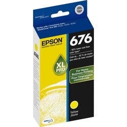 Epson DURABrite Ultra 676XL Ink Cartridge - Yellow